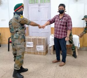 eSF donated Oxygen Concentrators to Military Hospital, Faizabad